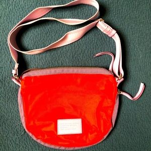 Marc Jacobs nylon crossbody bag with zip expansion